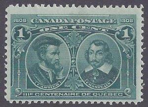 Canada Scott #97 Mint lightly hinged F-VF