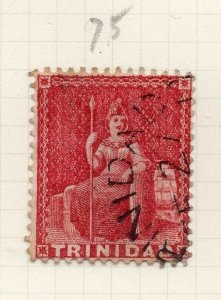 Trinidad 1860s Early Issue Fine Used 1d. 284511