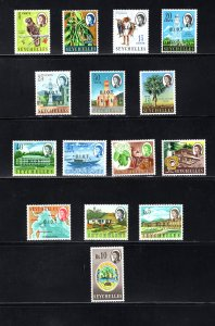 British Indian Ocean Territory, Scott 1-15  VF,  Unused, CV $55.80 ..... 0870001