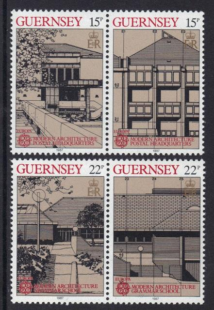 Guernsey 1987  MNH  Europa  complete  vepv 223