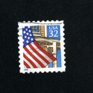 USA # 2897  3  used 1995-97 PD .08