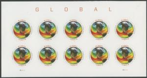 #4893a GLOBAL IMPERF PANE OF 10 BS5574