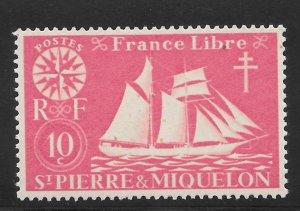 Saint Pierre and Miquelon Mint Never Hinged [4147]