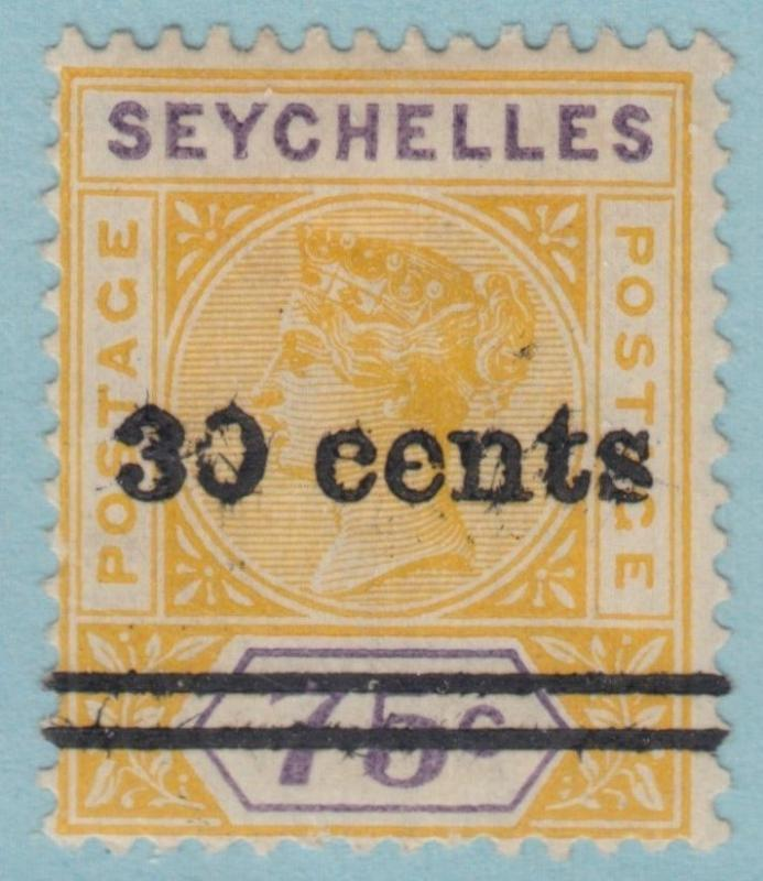 SEYCHELLES  34  MINT HINGED OG *  NO FAULTS EXTRA  FINE !