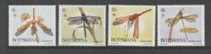 Botswana 1983 Christmas Dragonflies MM SG 550/3