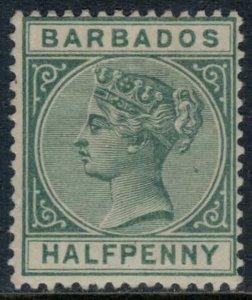 Barbados #60*  CV $35.00