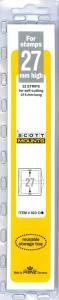 Scott Mounts Clear 27mm STRIP 215 ,(Pgk. 22) (00923C)