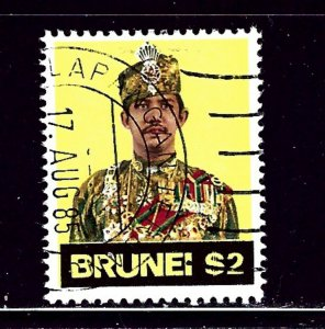 Brunei 207 Used 1974 issue
