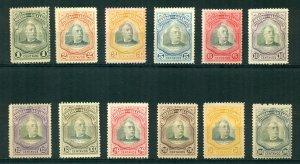 El Salvador 1906 #336-348 MNG SCV (2020) = $6.05