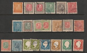 Iceland a small lot of mainly used earlies