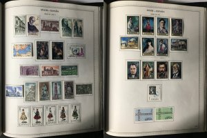 Spain & Colonies Collection on Minkus Albums 1854-1983 CV$1600 - MAKE OFFER!