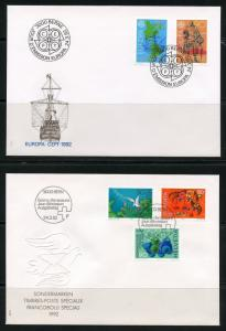 SWITZERLAND LOT B  OF 24  RECENT  FIRST DAY COVERS