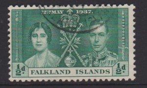 Falkland Islands Sc#81 Used