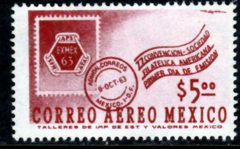 MEXICO C274, Convention of the American Philatelic Soc MINT, NH. F-VF.