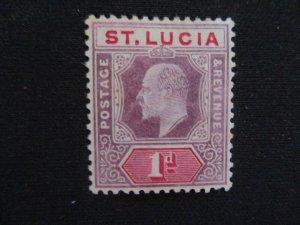 St. Lucia #51 Mint Hinged WDWPhilatelic (H6L7)