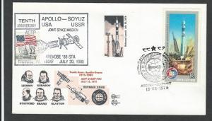 Russia   Space  Space Event Cover  Apollo