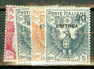 C: Eritrea B1-4 mint CV $73.75