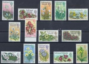 Falkland Islands stamp Native flowers set 1968 MNH Mi 161-174 WS189175
