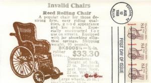 1988 Wheel Chair (Scott 2256) Tudor House