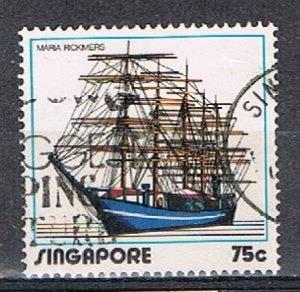 SINGAPORE OC014 - 1972 75c Shipping Industry used