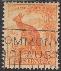 Australia, Sc 166, Used, 1937, Kanfaroo