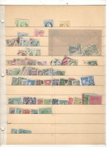 AUSTRIA COLLECTION ON STOCK SHEET MINT/USED