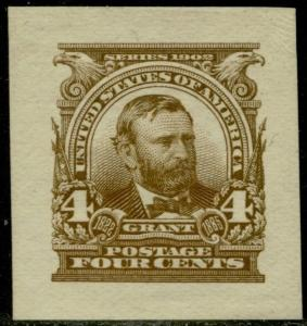 #303P2 GRANT SMALL DIE ON WHITE WOVE PAPER BQ2866