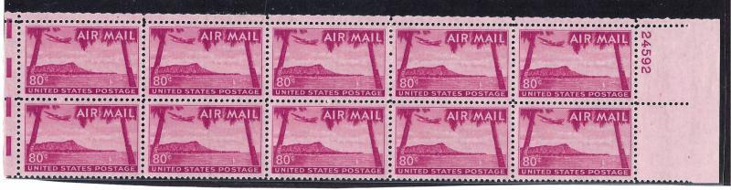 C46 Mint,OG,NH... Plate Block of 10... PSE Cert... SCV $46.00