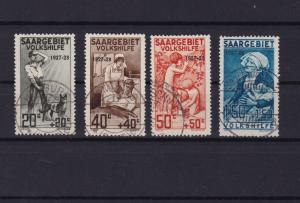saar 1926 welfare fund used  stamps cat £150+  ref r15169