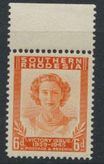 Southern Rhodesia SG 67 Mint never hinged