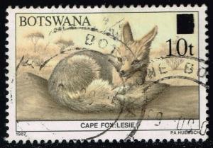 Botswana #480 Cape Fox; Used (0.25)