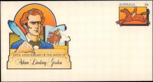 Australia, Postal Stationery, Horses