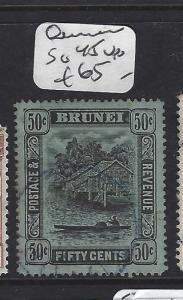 BRUNEI   (P2407B)   50C  SG 45  VFU