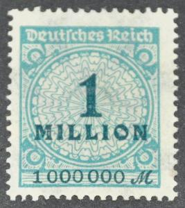 DYNAMITE Stamps: Germany Scott #281 – UNUSED