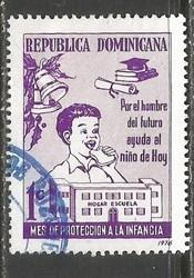 Dominican Republic RA77 VFU Z693-4