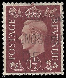 Great Britain 1937 #237 Used