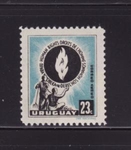 Uruguay C179 MNH Human Rights (A)