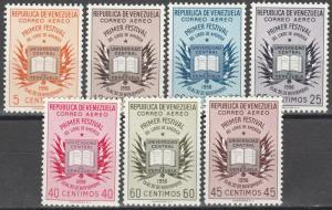 Venezuela #C629-35  MNH CV $17.50  (K264)