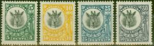 Tanganyika 1925 Frame Colour Change set of 4 SG89-92 V.F Very Lightly Mtd Mint