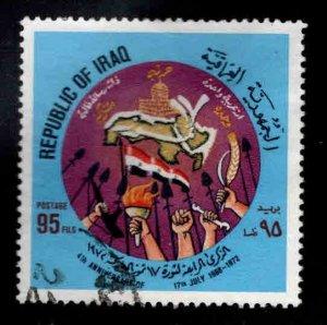 IRAQ Scott 661 Used  stamp set