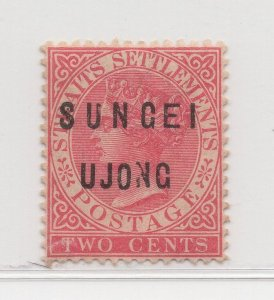 Malaya Sungei Ujong - 1882-84 - SG20 - 2c Pale Rose - MH #640