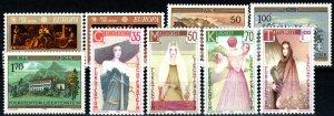Liechtenstein #804-12 MNH CV $7.25 (X9743)