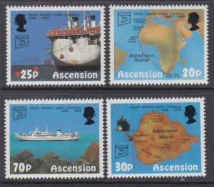 Ascension 562-565 MNH VF