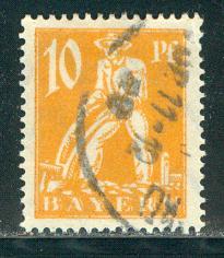 German States Bavaria Scott # 239, used