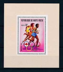 [55720] Burkina Faso 1976 Olympic games Montreal Athletics MNH Sheet