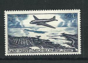 St. Pierre and Miquelon #C20 MNH CV$55.00 St Pierre Harbor [171973]