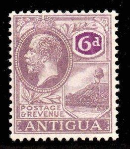 Antigua 1921 KGV 6d wmk MSCA SG 75 mint