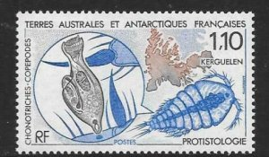 FRENCH SOUTHERN & ANTARCTIC TERRITORIES SG259 PROTISTOLOGY MNH