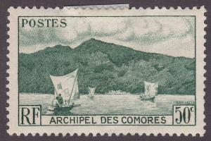 Comoro Islands 31 Anjouan Bay 1950
