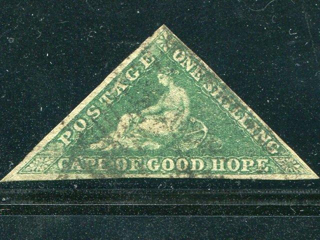Cape of Good Hope # 6a Used F-VF   Cat $600  Lakeshore Philatelics